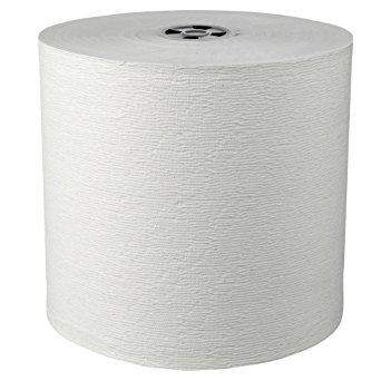 Scott Hard Roll Paper Towels (25703) with Absorbency Pockets, for MOD Dispenser (Grey Core only), 1150'/Roll, 6 White Rolls/Case, 6,900 feet